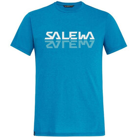 SALEWA Reflection Dri-Rel SS Tee Men blue danube melange